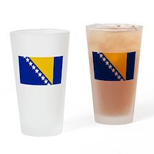 Flag of Bosnia Drinking Glass