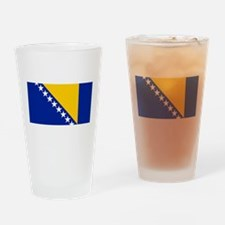 Flag of Bosnia Drinking Glass