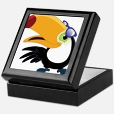 Cartoon Toucan Keepsake Box