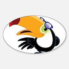 Cartoon Toucan Decal