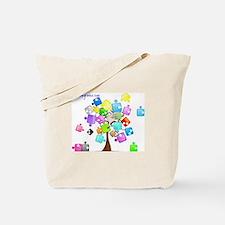 Family Tree Jigsaw Tote Bag