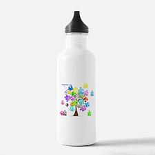 Family Tree Jigsaw Water Bottle