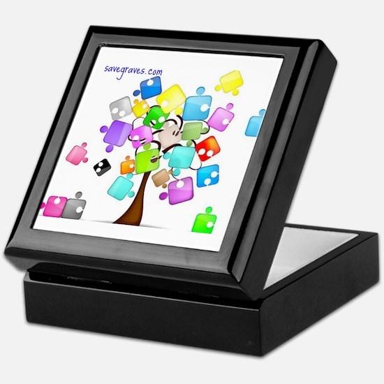 Family Tree Jigsaw Keepsake Box