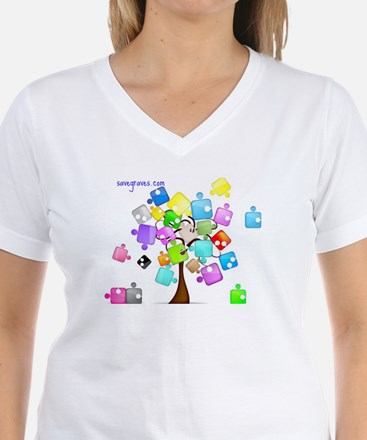 Family Tree Jigsaw Shirt