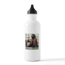Monkey Hugs Water Bottle
