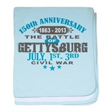 150 Gettysburg Civil War baby blanket