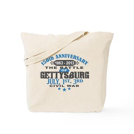 150 Gettysburg Civil War Tote Bag