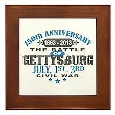 150 Gettysburg Civil War Framed Tile