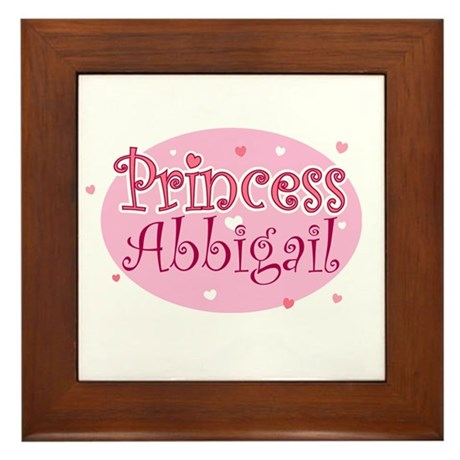 Abbigail Framed Tile
