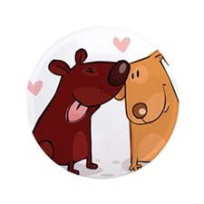 """Love Dogs 3.5"""" Button (100 pack)"""