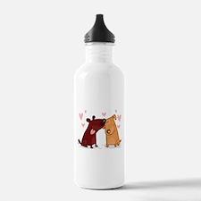 Love Dogs Water Bottle