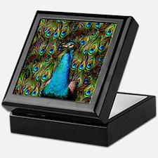 Peacock Watch! Keepsake Box