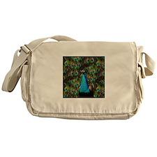 Peacock Watch! Messenger Bag