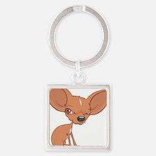 Grumpy Chihuahua Keychains