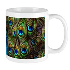 Peacock Watch! Mug