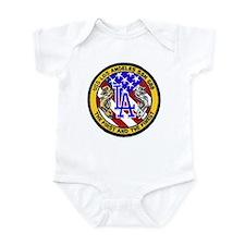 USS Los Angeles SSN 688 Infant Bodysuit