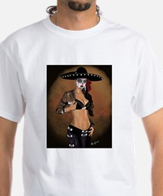 Mariachi Pin-up Art T-Shirt