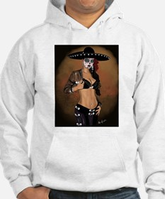 Mariachi Pin-up Art Hoodie