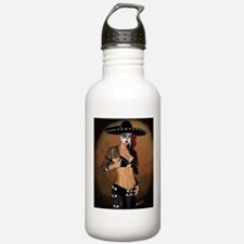 Mariachi Pin-up Art Water Bottle
