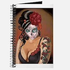 Skulls and Roses Muertos Journal