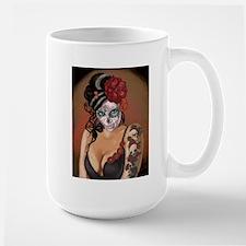Skulls and Roses Muertos Mug