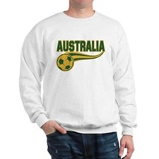 Soccer ball with the word Australia Sweatshirt