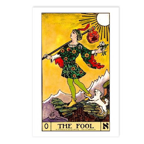 """The Fool"" Postcards (8)"