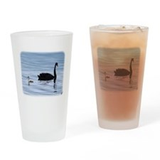 Black Swan and Cygnet 9Y885D-006 Drinking Glass