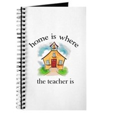 Home Is Where The Teacher Is Journal