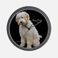 Goldendoodle: Wallace Wall Clock