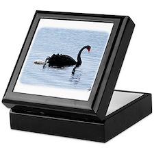 Black Swan and Cygnet 9Y885D-032 Keepsake Box