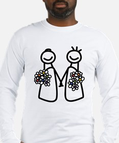 Lesbian wedding Long Sleeve T-Shirt