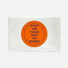 Texas Citizen Filibuster 2013 Rectangle Magnet