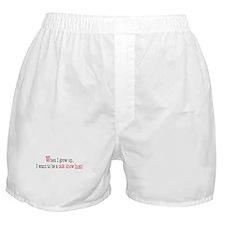 ... a talk show host Boxer Shorts