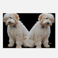 Goldendoodle: Wallace Postcards (Package of 8)