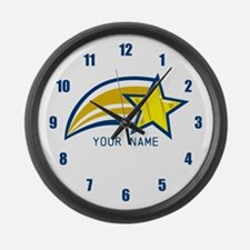 Custom Add Name Clock Large Wall Clock