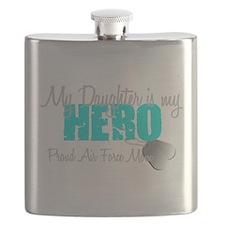 AF Mom Daughter is my Hero Flask