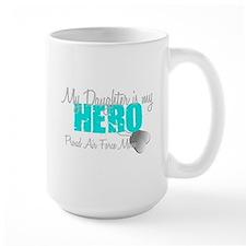 AF Mom Daughter is my Hero Mug