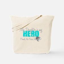 AF Mom Daughter is my Hero Tote Bag