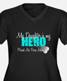 AF Mom Daughter is my Hero Plus Size T-Shirt