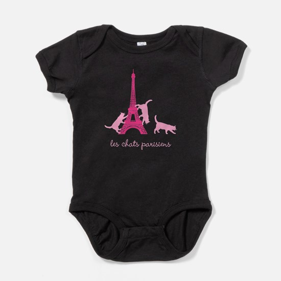 Cats of Paris Baby Bodysuit