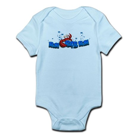 Run Crab Run Logo Body Suit
