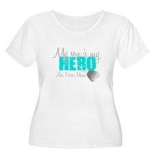AF Mom Son is my Hero Plus Size T-Shirt