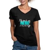 Air force mom Womens V-Neck T-shirts (Dark)