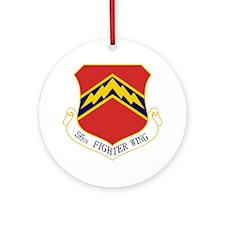 56th FW Ornament (Round)