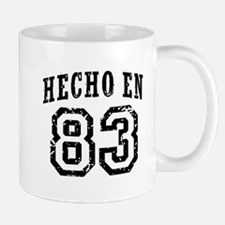Hecho En 83 Mug