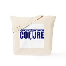 Silhouette Greencheek Conure Tote Bag