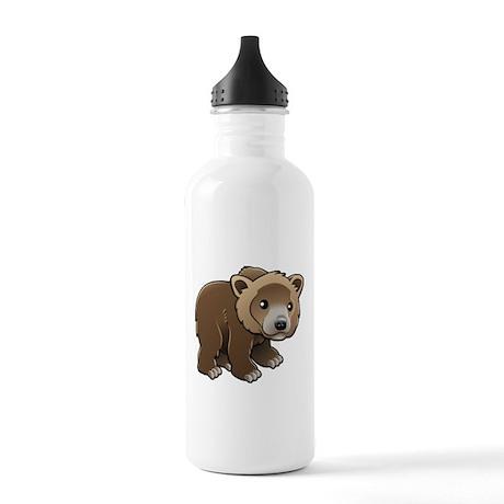 Brown Bear Water Bottle