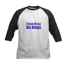 Think Ninja (blue) Baseball Jersey