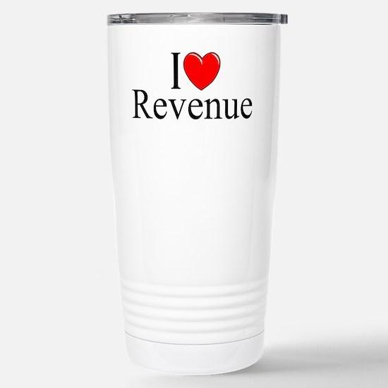 """I Love (Heart) Revenue"" Mugs"